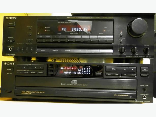 SONY SUR SOUND 200 WATT RECEIVER WITH PHONO INPUT GUARANTEED