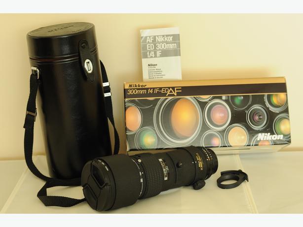 Nikon 300mm F4 IF-ED AF