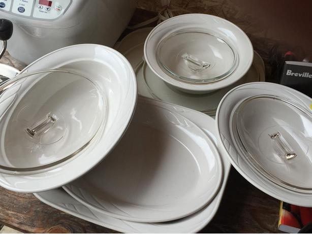 Set of Corning Baking and Serving Dishes