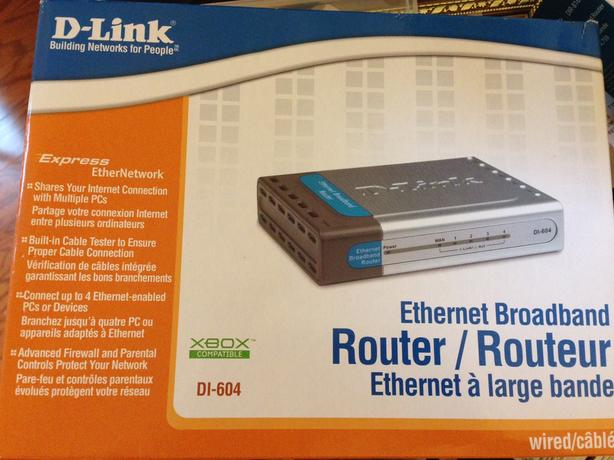 D-Link DI604 Ethernet Router -  Never opened!