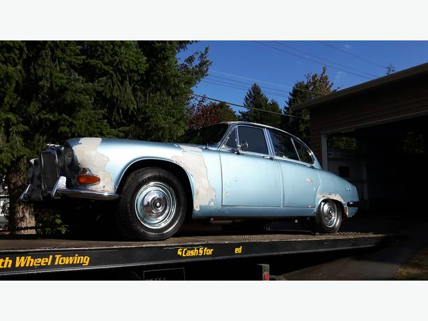 1967 Jaguar 420 Sedan- For Sale Or Trade