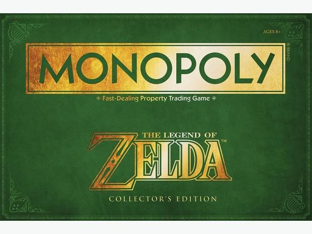 Legend of Zelda - Ocarina of Time Monopoly Collector's Edition