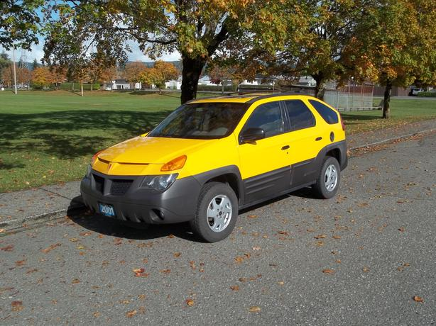 2001 AZTEK WITH ALL WHEEL DRIVE-LOW KILOMETERS-CALL HART DREW AT 250 724 3221