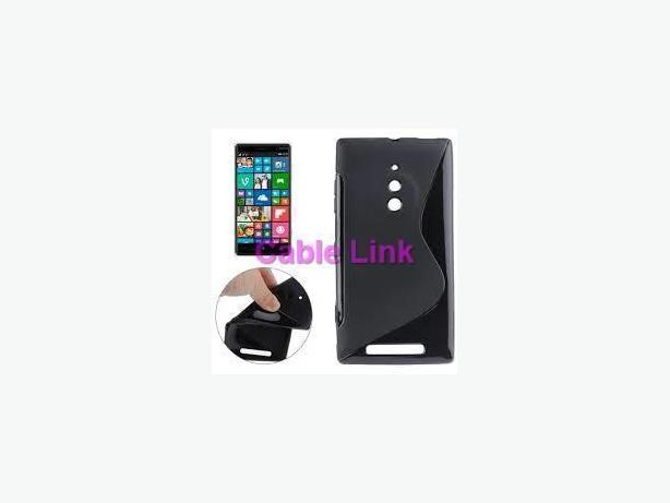 S-Line TPU Back Cover Case For Nokia Lumia 830
