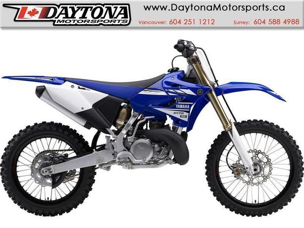 2017 Yamaha YZ250 (2-STROKE) Off Road Bike  * BRAND NEW - Blue *