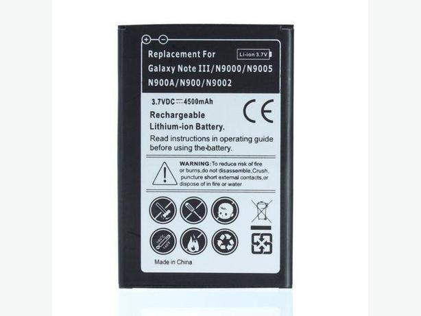 High-Capacity Replacement Battery For Samsung Galaxy Note 3 N900