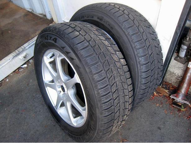 bridgestone blizzak tires lm 25 lm25 4x4 235 65 r17 and. Black Bedroom Furniture Sets. Home Design Ideas