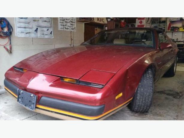 1987 Pontiac Firebird T Top