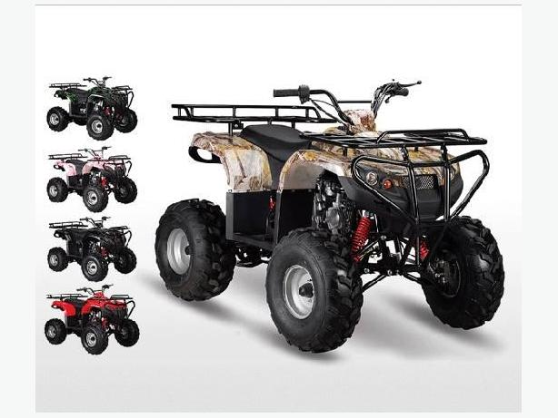 The ever popular ATA125-F1 ATV delivers full size  ATVS FEATURES.