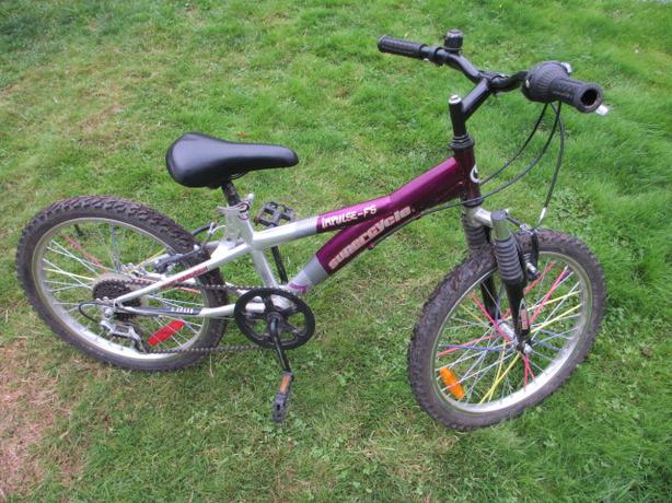 "Kids hardtail mtn bike - 20"" wheel"