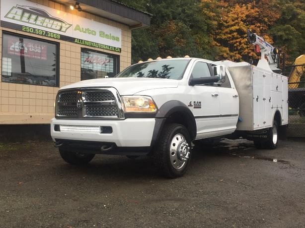 2014 Dodge Ram 5500 Laramie Service Truck Cummins