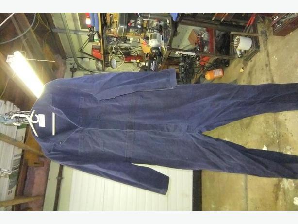 6  washed coveralls  size 48 good shape