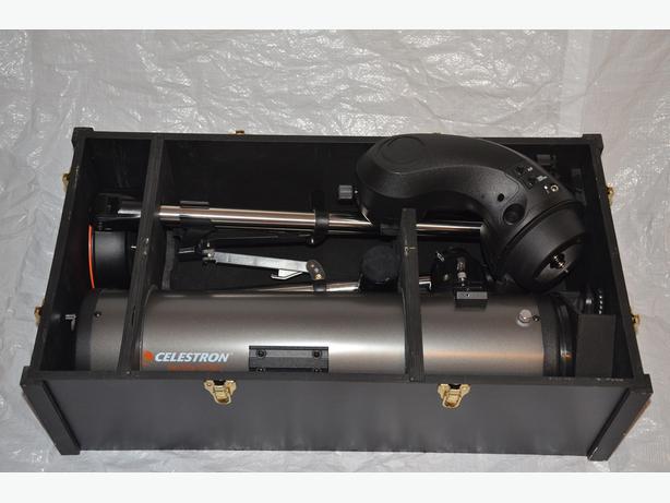 Celestron NexStar 130 SLT telescope, Meade eyepieces & case