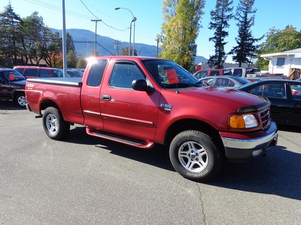 2004 ford f150 xlt 4x4 extracab xtr heritage