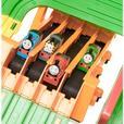 Thomas the train race on the rails