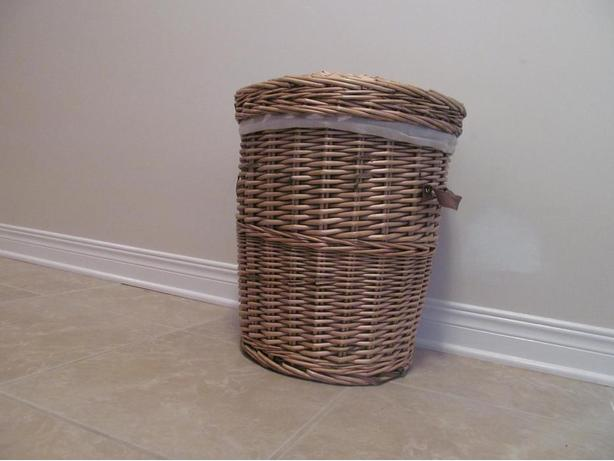 Pier 1 Imports Wicker Laundry Basket
