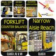Forklift Training + JOB Help + Approved Licence