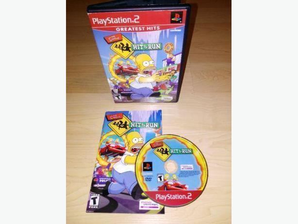 Simpson's Hit & Run For The Playstaion 2