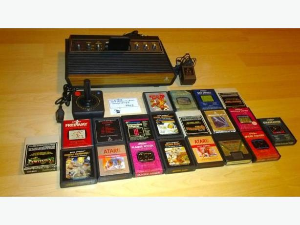 Classic Atari 2600 With Controller & 21 Games