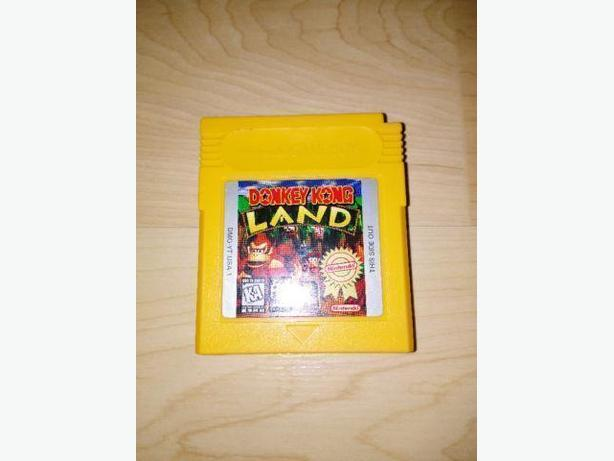 Donkey Kong Land For The Gameboy Color