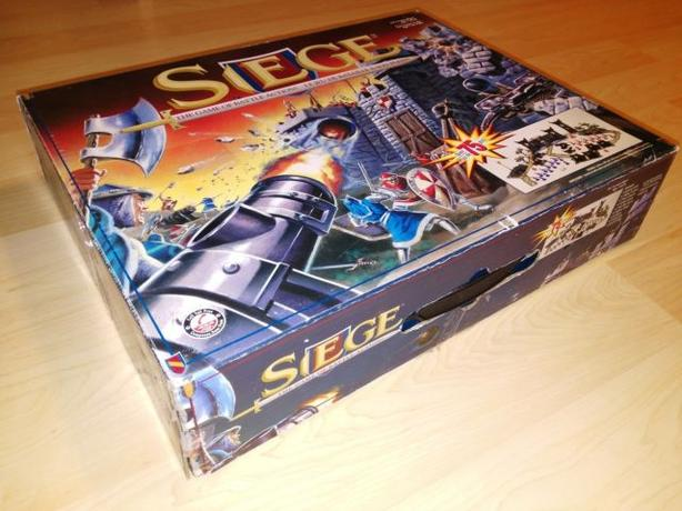 Hard To Find Siege Strategy Board Game (1994)