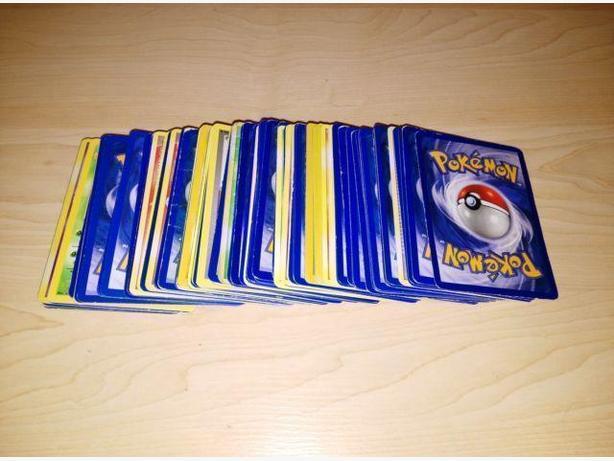Lot Of 100 Vintage Pokemon Cards