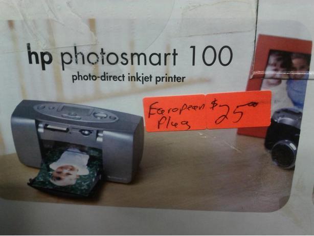 HP Photosmart 100 (with European Plug)