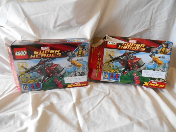 Lego 6866 Wolverines' Chopper Takedown set with Deadpool