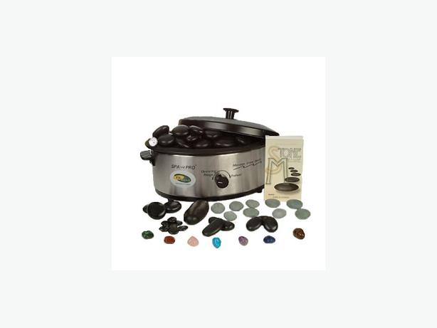 PROFESSIONAL HOT STONE MASSAGE KIT WITH WARMER