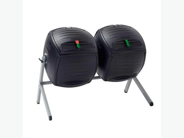 Lifetime 100 Gal. Dual Bin Compost Tumbler