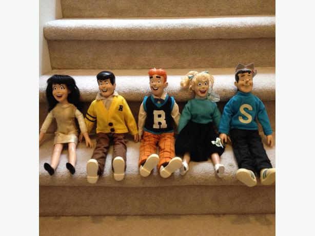 Archie Comic dolls