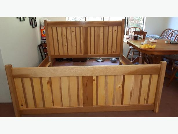 custom built bed frames