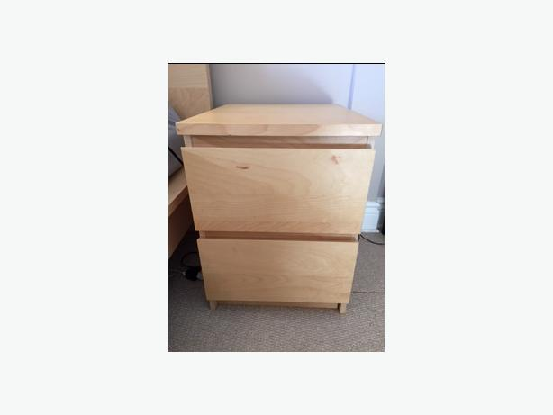 IKEA bedroom set for sale with mattress