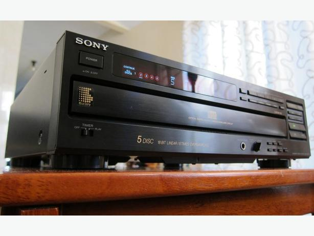 SONY CDP-C705 CD PLAYER 5-DISC CD CHANGER *NICE HIGH END SONY ES*