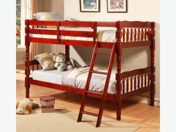Brand new factory wrapped detachable wooden bunk bed for for Detachable bunk beds