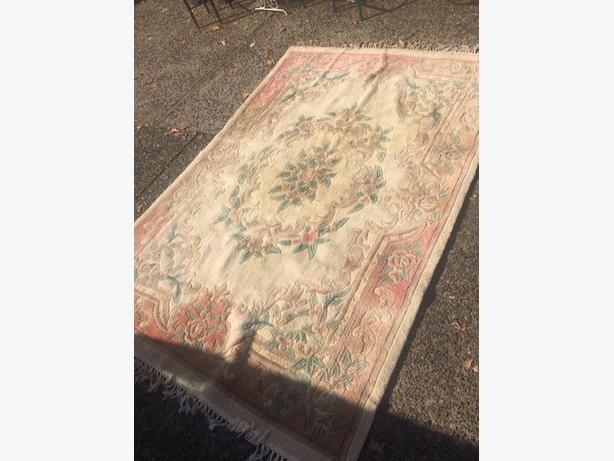 price reduced wool rug