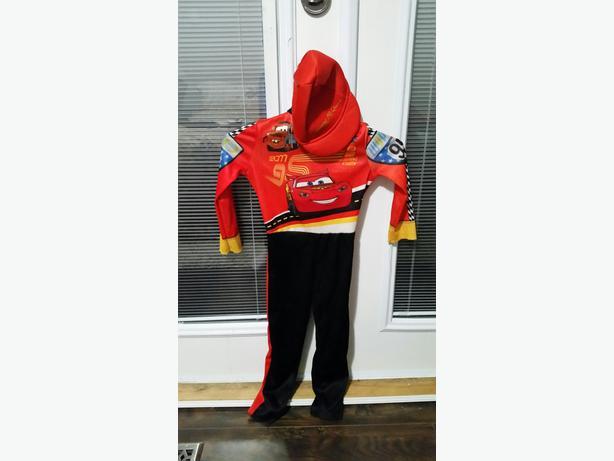 Lightning McQueen Size 2-3 Halloween Costume