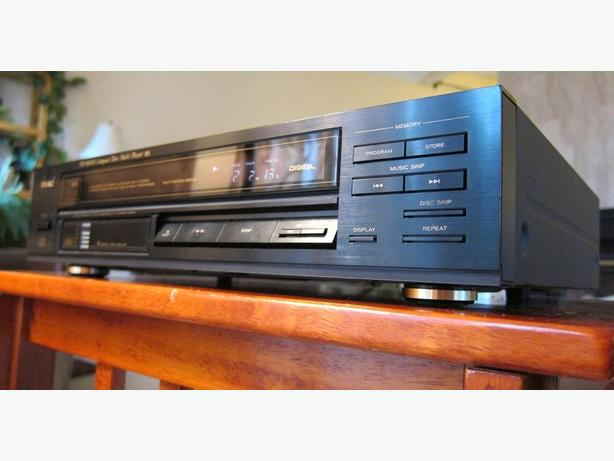 TEAC PD-800M 6 DISC CD PLAYER CD CHANGER *RARE MODEL* JAPAN
