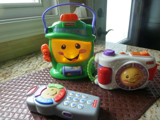Fisher Price Laugh & Learn BABY toys