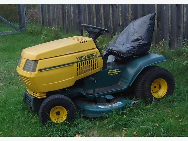 18 HP YARDMAN LAWN TRACTOR FOR PARTS ONLY - IRON BRIDGE