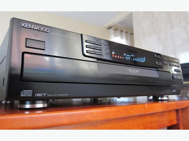 KENWOOD CD-403 CD CHANGER 5-DISC CD PLAYER 1-BIT DAC *MINT*
