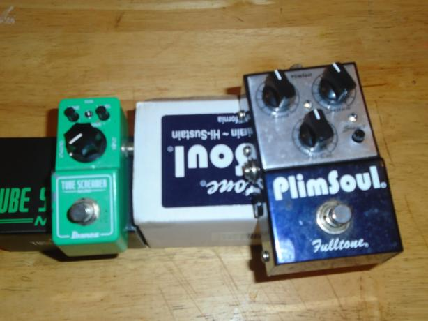 Plimsoul OD pedal Ibanez TS mini sold separately