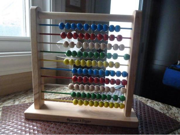 NEW Wooden Abacus