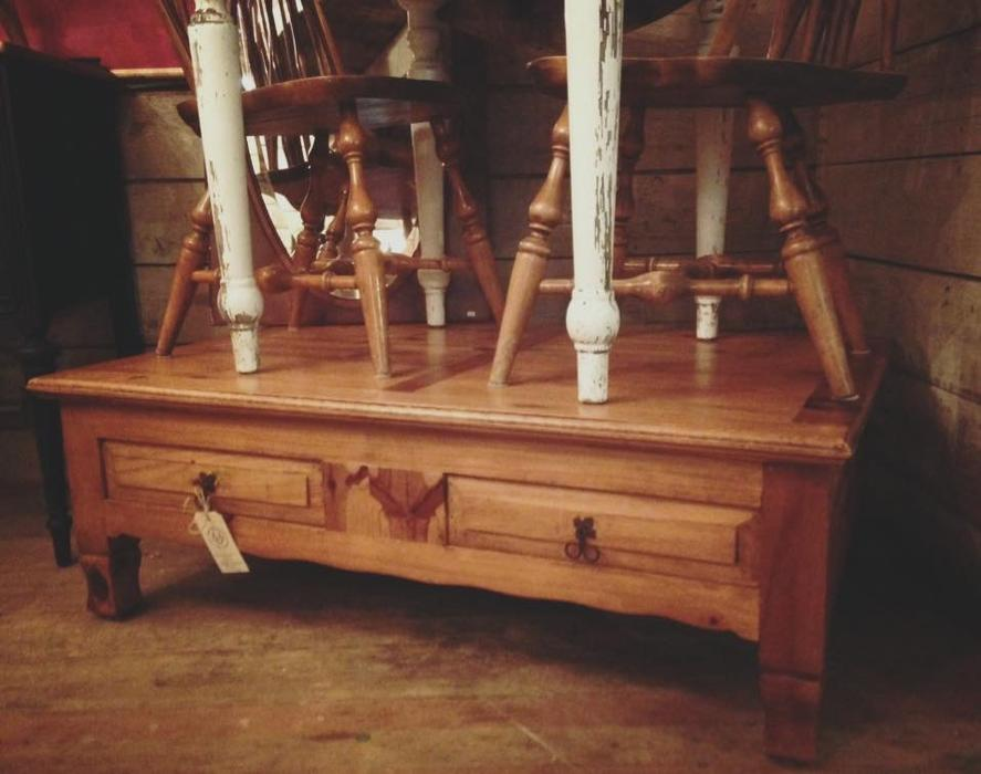 Mexican Pine Coffee Table Cobble Hill Cowichan