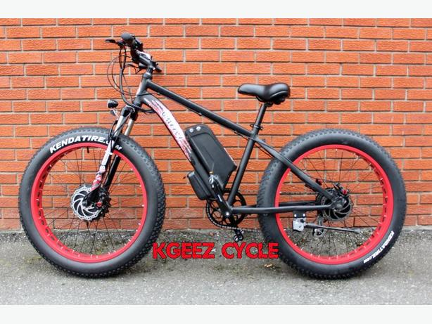 "2016 Kgeez ""GRIZZLY"" dual ""36Volt DUAL LITHIUM"" fat wheel"