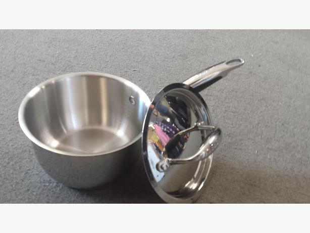 BRAND NEW LAGOSTINA COOKWEAR - SAUCEPAN WITH COVER  - 14 cm