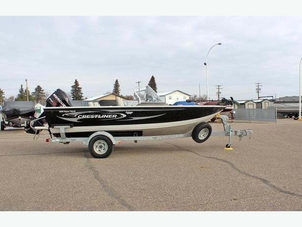 2012 Crestliner 1800 SuperHawk w/Merc 150 Optimax Pro XS