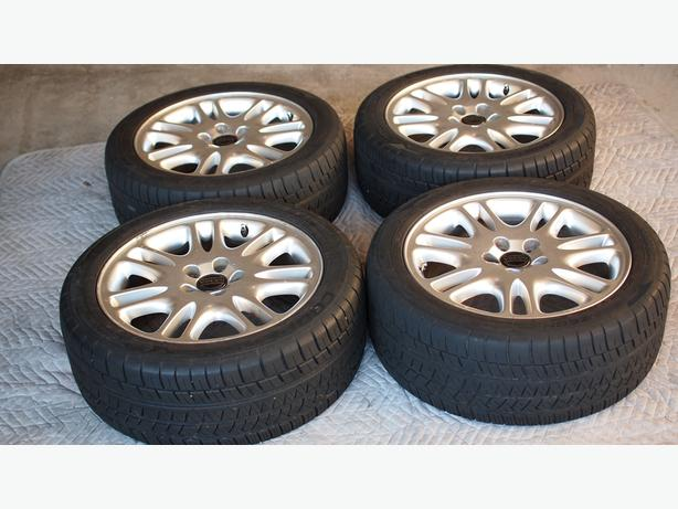 "Volvo OEM ""Amalthea"" Rims with Cooper Zeon RS3-A 235/45 R17 tire"
