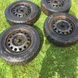 185/65/R14 winter tires on rims