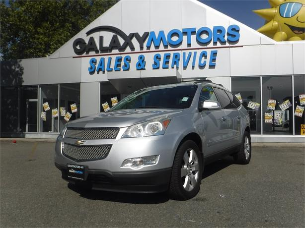 2009 Chevrolet Traverse LTZ - leather, DVD Player, Power Moonroof